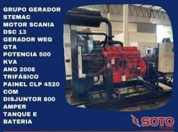 Gerador 500 kva