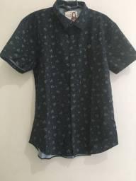 Camisa Fico tricoline