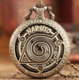 Relógio de Bolso Naruto - Produto Novo
