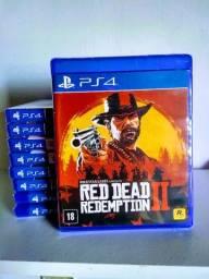 Red dead redeption 2 ps4 - Mídia física Lacrado