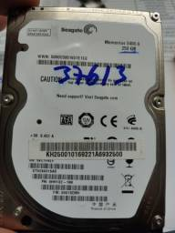 HD de notebook de 250gb marca Seagate
