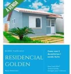 DS/ A casa no Golden com 2 quartos e área para construir