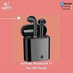 Fone de Ouvido AirPods Bluetooth i7 Tws 5.0 Touch - RG-0891