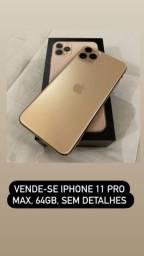Título do anúncio: Vende-se iPhone 11pro max