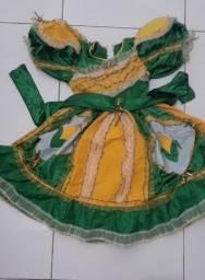 Vestido caipira junino