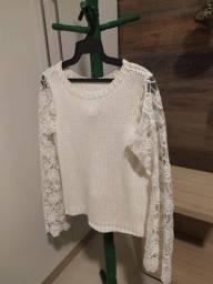 Título do anúncio: Blusa tricô M