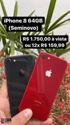 Título do anúncio: iPhone 8 64GB (Seminovo)
