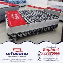 Título do anúncio: ## Cama cama casal + brinde de travesseiros