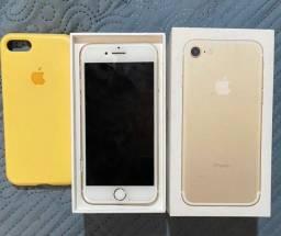Iphone7 dourado, 128gb, Sem nenhum defeito