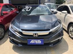 Honda Civic 2020 Completo + GNV Entr. 48x 2.801,00