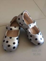 Sapato infantil tamanho 21