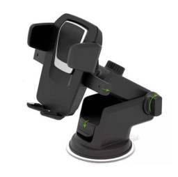 Suporte Celular Carro Veicular Trava Automática Anti Queda GPS