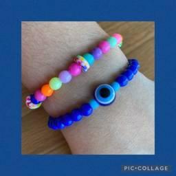 Pulseiras de miçangas- beads