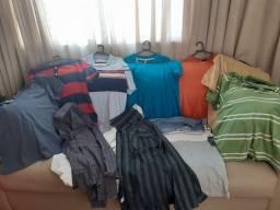 Título do anúncio: Imperdível!! 12 Camisas Diversas, entre Polo e Sociais