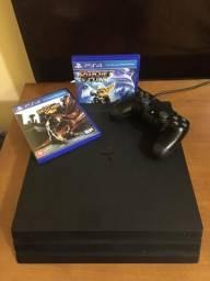 PS4 PRO + 2 jogos
