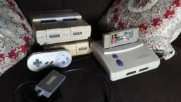 Super Nintendo SNES - FAT e Baby