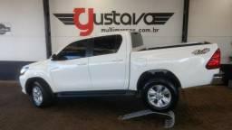 Toyota/Hilux CD Srv 2.8 4x4 Diesel Aut/Unico Dono 2016 - 2016