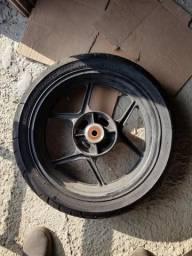 Roda trazeira original kawazaki z750 2012