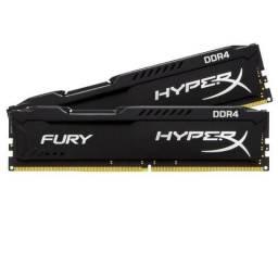 Mem. Ram Hyperx FURY 4gb DDR4 2400mhzp/ PC