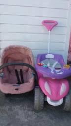 Troco bebê conforto e carrinho em pula-pula pequeno