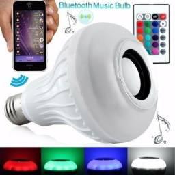 Lampada De Led Bluetooth De Som + Controle Remoto(Entrega Grátis-Nota fiscal) Loja na coha