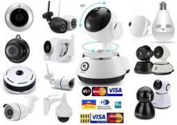 Camera Robo Ip Hd 720p 960p 1080p Wifi Garantia 6 meses Instalamos Promoção 3x Sem juros