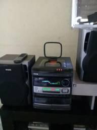 Vendo som aiwa 250.00 só não funciona o cd