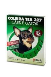 Coleira Tea 327 Antiparasitária Externo 33 cm para Cachorros