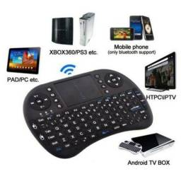 Mini Teclado Touch Pad Sem Fio Wireless Universal Pc Tv Box