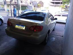 Corolla xli 1.8 automático completo+gnv injetado+banco de couro-2008 - 2008