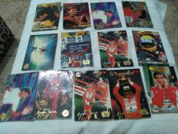 Figurinhas do Ayrton Senna