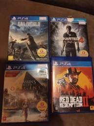 Vendo jogos play 4