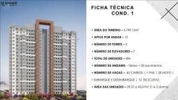 Urban Mooca Aptos 29 a 45m2 1 e 2 Dorms 1 Banheiros 1 Vaga Opcional, Lazer Completo