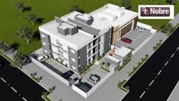 Apartamento com 2 dormitórios à venda, 56 m² por R$ 210.000,00 - Graciosa - Orla 14 - Palm
