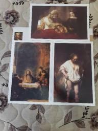 Título do anúncio: Coleção Telas Famosas de Rembrandt