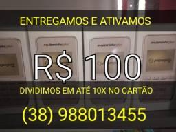 Máquinas de cartão Moderninha Plus R$100