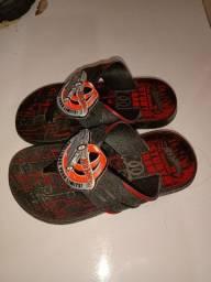 Bota galocha e sandália Hotwheels