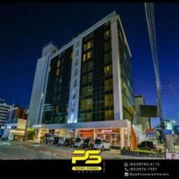 Flat com 1 dormitório para alugar, 30 m² por R$ 2.100/mês - Tambaú - João Pessoa/PB