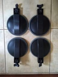Pads bateria Staff Drum - bem conservados