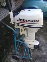 Motor do barco johnson