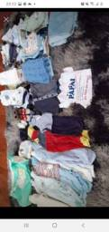 Vendo roupa de bebe menino tamanho RN p