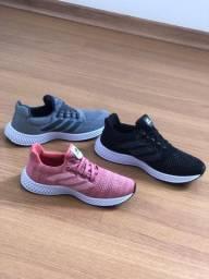 Tênis Adidas 4d Preto Cinza do 38 ao 43 e Rosa do 34 ao 39