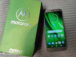 Moto G6 com caixa e nota fiscal