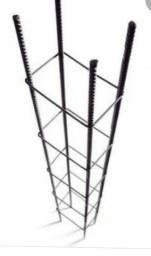 Coluna de Ferro Pronta 8mm,7x14x6mt  R$95,00