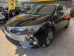 Toyota Corolla XEI 2019 preto com 19.000 km