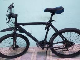 Bicicleta completa com freio a disco e kit da shimano