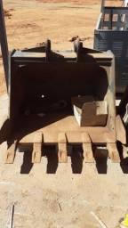 Concha escavadeira hyundai r140 c/ pistão e H