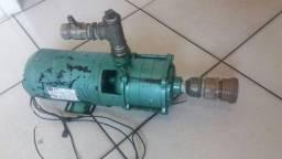 Bomba de Irrigação Thebe seminova com 1 ano de uso e com motor Weg