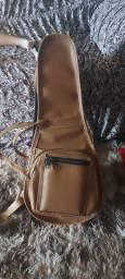 Bag Dupla pra cavaco, Forro 100% peluciado, Revestida em couro BimDim! Super resistente