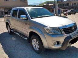 Hilux 2.7 SR Aut - GNV 5ª - Carro em Excelente Estado - Consigo Financiamento - 2012